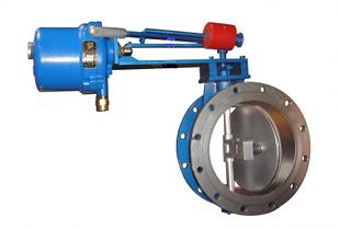 电磁式煤气快速切断蝶阀DMF-0.1
